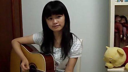 吉他弹唱《童年》Cover by 白桦树娃娃