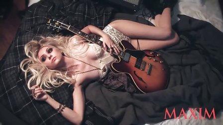 【九月】Taylor Momsen For Maxim *ehind the photoshoot
