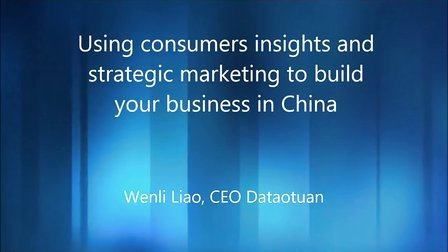 Using consumer insights to build your brand in China