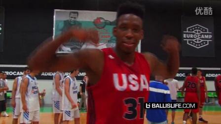 美国青年精英 Vs NBA新秀&欧洲职业联队 Ballislife官方集锦