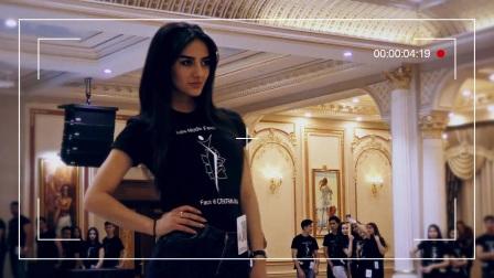塔吉克斯坦 美女模特 Husainova Zarnigor - 采访视频