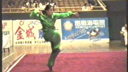 1995年全国武术套路锦标赛 女子传统项目 三类拳 002 螳螂拳 左娟(北体)