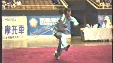 1995年全国武术套路锦标赛 女子传统项目 三类拳 003 螳螂拳 邢龙宝(北体)