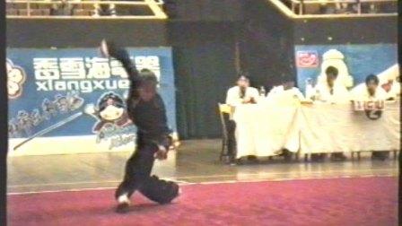 1995年全国武术套路锦标赛 女子传统项目 三类拳 013 鹰爪拳 金颖(吉林)