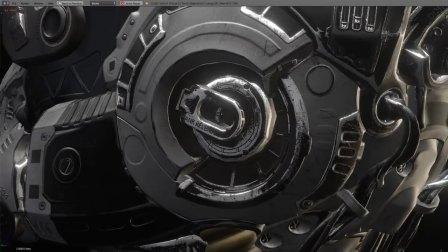 Bloom _ Blender 2.8 (Test build) Eevee PBR Engine RealTime