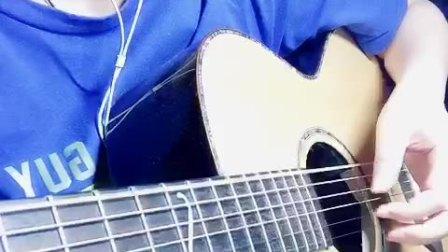 朱主爱《好想你》吉他弹唱 by:盼盼