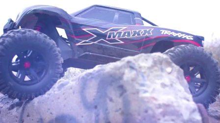 Traxxas X-Maxx 大脚车反重力挑战