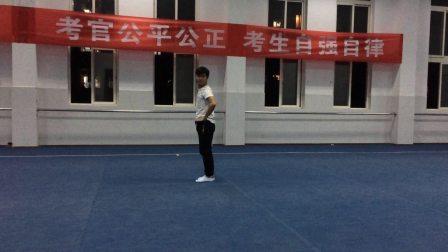 湖南省体育高考武术套路  蒋军小练
