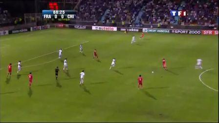 2010605 世界杯足球热身赛  中国1:0法国 法国电视台直播