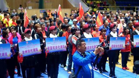 2019年河南省第十三届老年人体育健身大会气排球