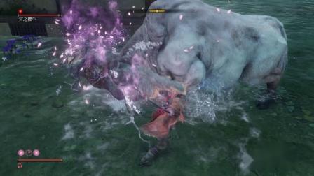 PS4 只狼 娱乐视频 蠢牛撞墙 宫之樱牛 无伤