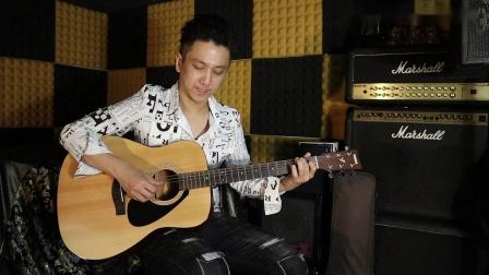 Rex Chow - Hotel California[木結他敲擊演奏純音樂版