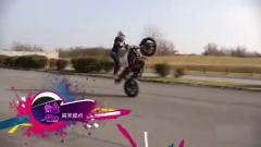 脑抽筋 盘点逆天的摩托女司机 85