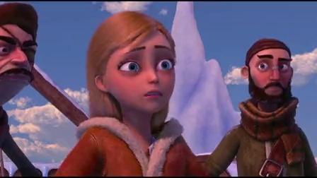 汉斯王子战雪怪,艾莎施法应战被擒,安娜急中生智巧施救