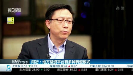 闫衍:地方融资平台有多种转型模式 财经早班车 20180327 高清版