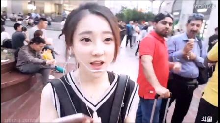 冯提莫上海街头版《刚好遇见你》 外国人都看呆了有个大胆的想法