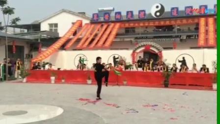 传统杨氏太极拳第六代传人 韩庆山 表演传统杨氏太极十三刀1516502597092 0