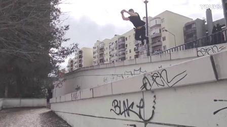 【洁癖男】荷兰跑酷团队里斯本之旅Jumping Lisbon - PK_FR