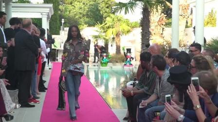 Philipp Plein Resort 2018 Men's and Women's Fashion Show in Cannes