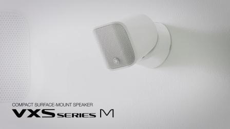 VXS1ML——颠覆性的超小型商用面装音箱登场!