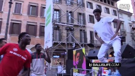 美国男篮队中享有一次在意大利!USA Basketball Official Ballislife