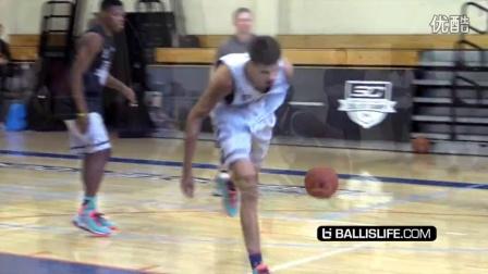 Dennis Smith Jr Impresses NBA MVP Stephen Curry In One On One Ballislife Mixtape