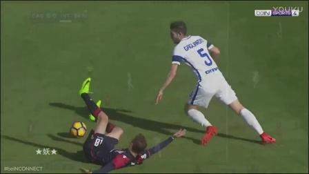 佩里西奇&巴内加&加利亚尔迪尼vs卡利亚里秀(现场音)2017.3.5