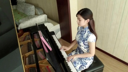 青花瓷钢琴演奏