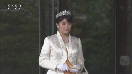 【皇室ご一家】眞子さま ご婚約へ 20170521