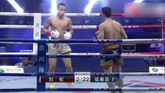 伊朗选手实力太强,抓住机会频繁顶膝直接KO