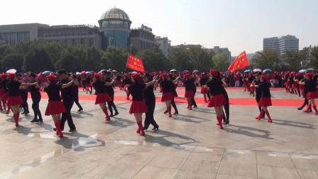 百人齐跳水兵舞(缙云国际体育舞蹈协会*2019.9)