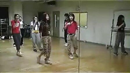冲田杏梨的排练舞蹈训练上传