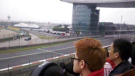 2012 F1 上海 直道末端群兽咆哮 现场