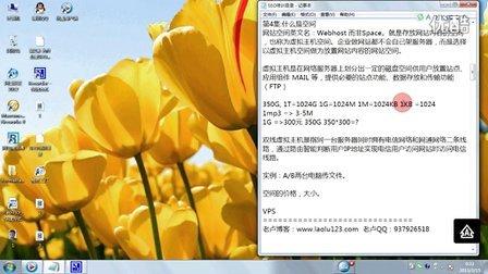 老卢SEO入门教程第4节:什么是网站空间(Webhost)
