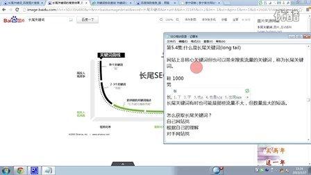 老卢SEO免费视频教程第5.4节:什么是长尾关键词