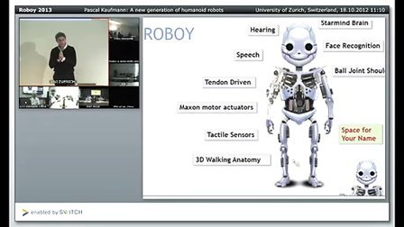 Roboy 2013 -- A new generation of humanoid robots [SHAIL 201