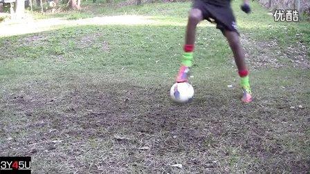 足球教程 21种足球控球技巧
