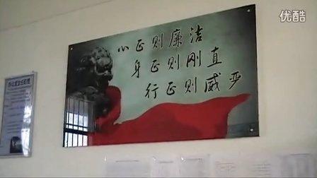 赣州市纪委宣教室邱坚主任到南康赞贤小学检查廉政文化进校园工作