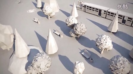 Camera Test for Paper City on Vimeo
