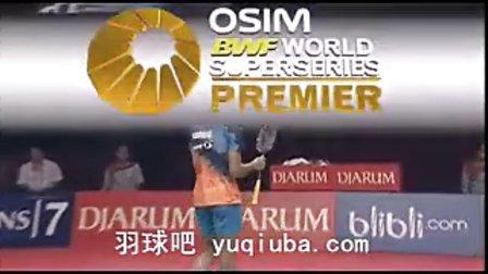 李宗伟VS拉姆巴卡 男单半决赛 2013印尼羽毛球公开赛-羽球吧