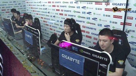 starswar8线下赛决赛 OMG vs iG 1