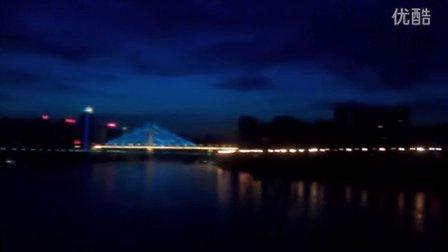 重庆那天美丽的夜空