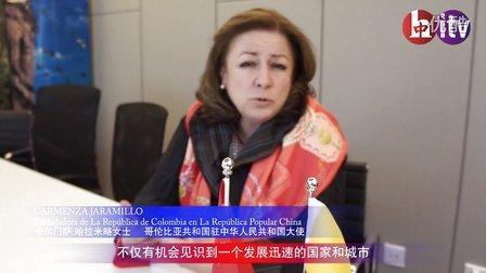Embajadora de Colombia哥伦比亚驻华大使卡尔门萨