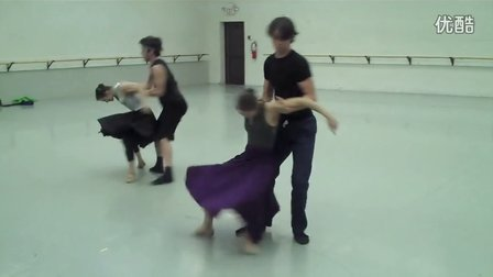Pride- Rehearsal in studio. BalletMet USA (马聪作品)