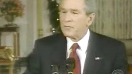 布什总统喝大了