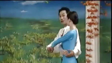 杨艺教你跳探戈02双手套环  三连步  世纪舞步
