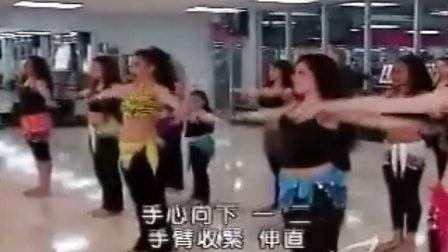 舞动全身肚皮舞教学1