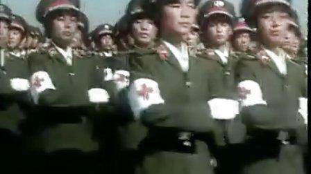 建国35周年大阅兵