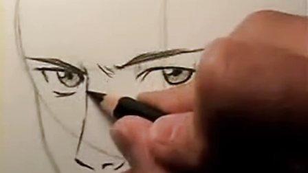 """漫画""""如何画脸"""""""