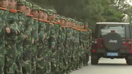 长春大学09届特教学院特殊教育系新生军训纪念